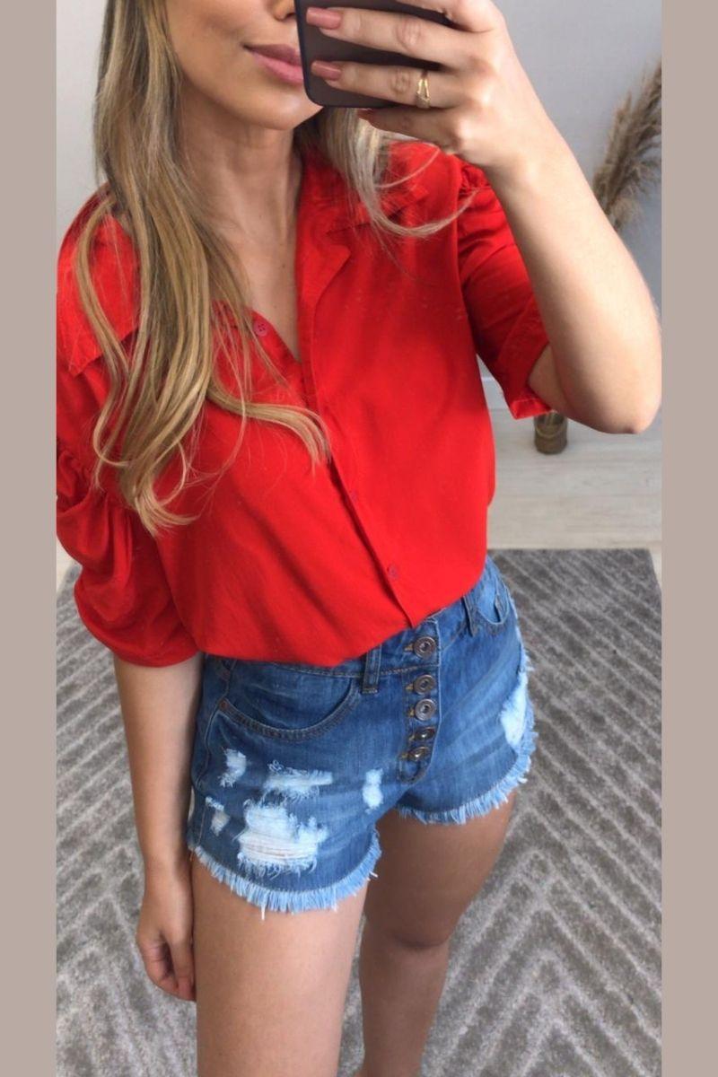 Short Jeans Feminino Atena