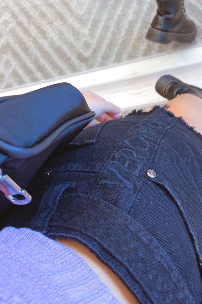 Short Jeans Feminino Black Amsterdã