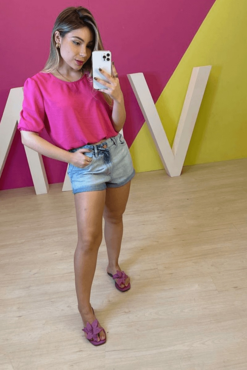 Short Jeans Feminino BoyFriend Bali