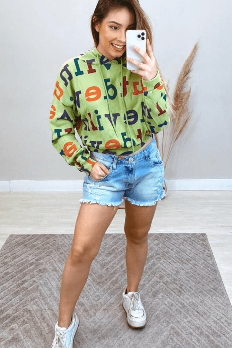 Short Jeans Feminino Boyfriend Destroyed