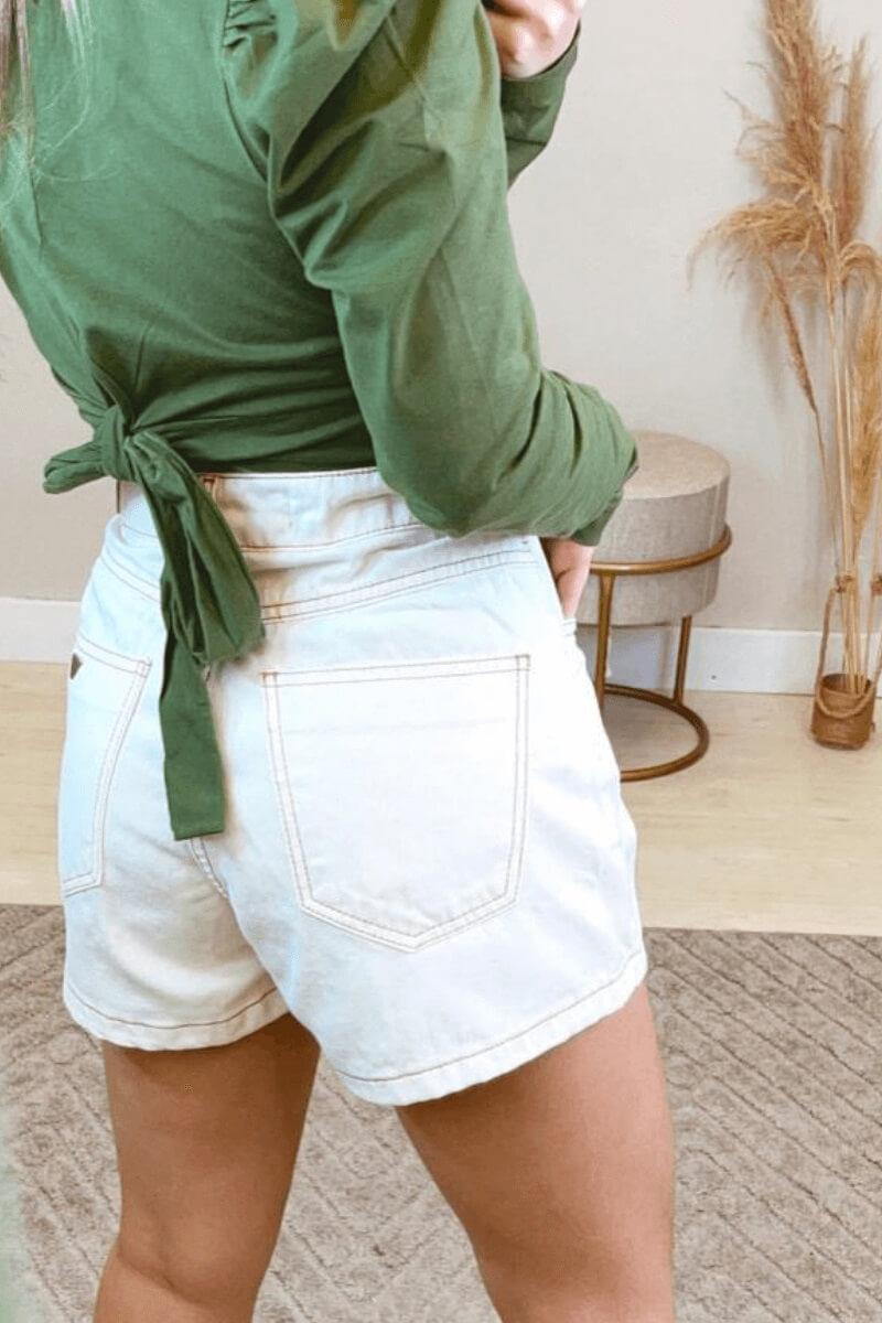 Short Jeans Feminino Colcci