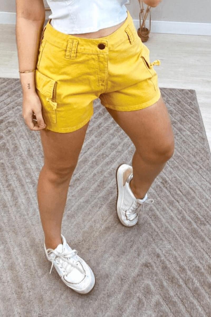 Short  Jeans Feminino Collor 2