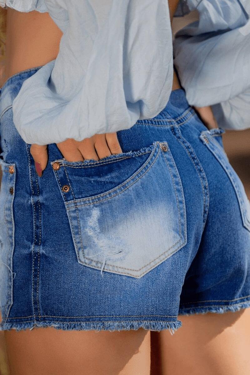 Short Jeans Feminino Las Vegas