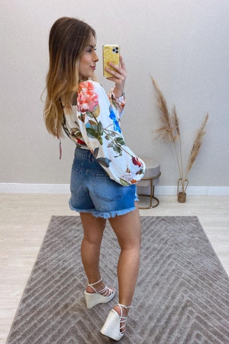 Short Jeans Feminino Lavínia