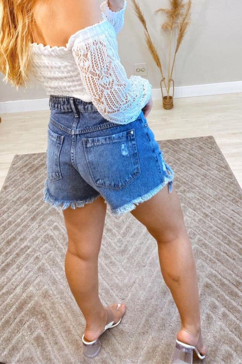 Short Jeans Feminino Nani