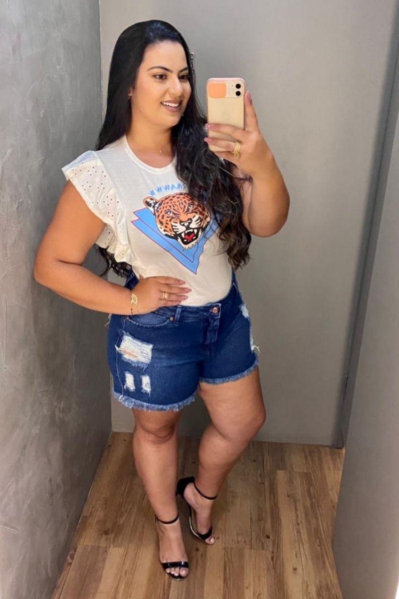Short Jeans Feminino Olivia
