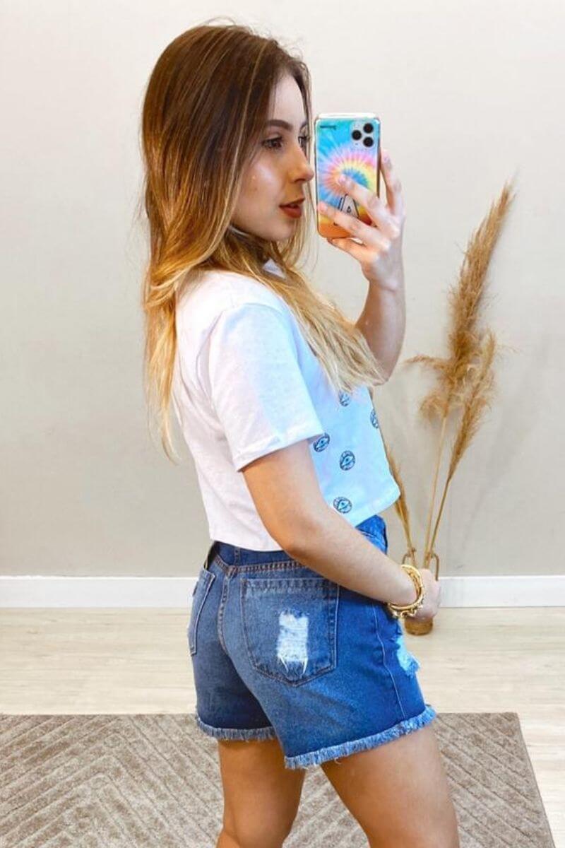 Short Jeans Feminino Patty