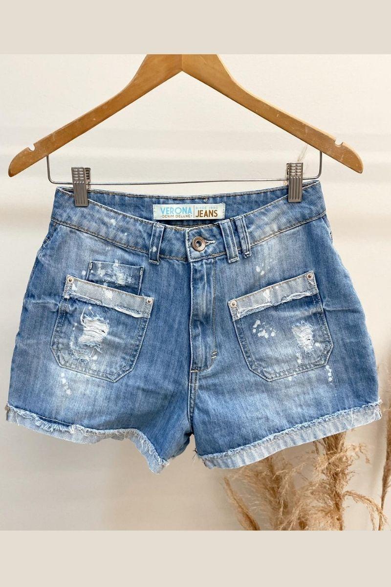 Short Jeans feminino Samara