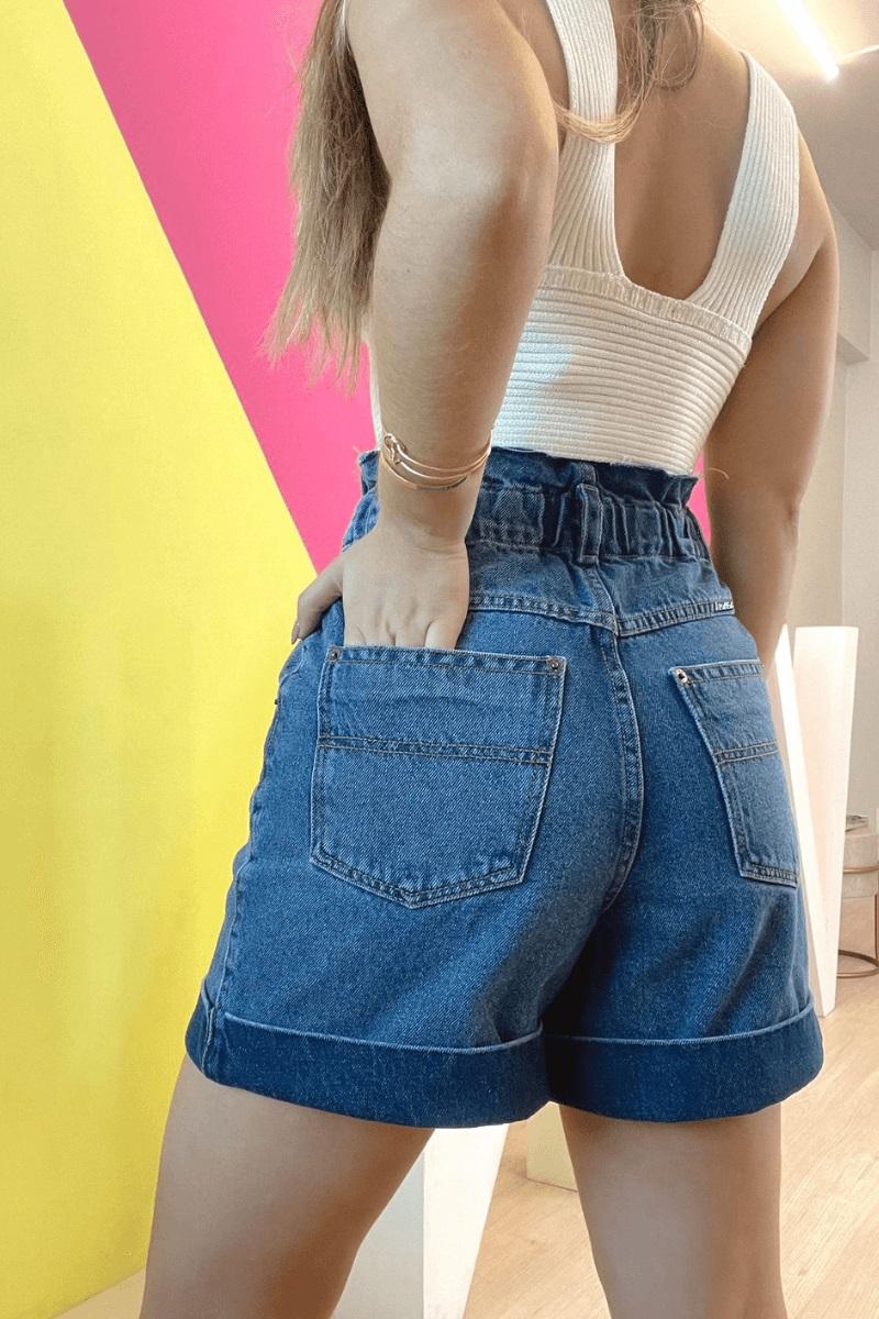 Short Jeans Feminino Vitoria Helena