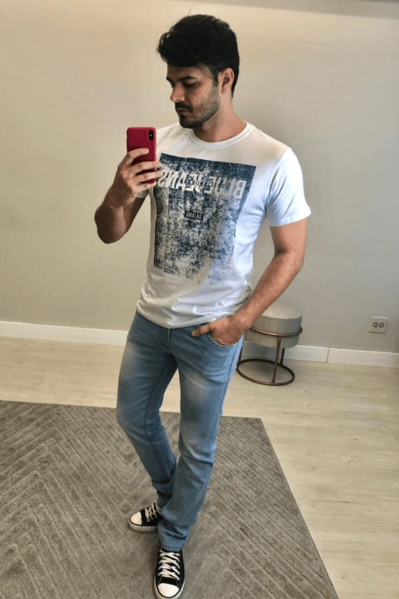 T-shirt Masculina V4