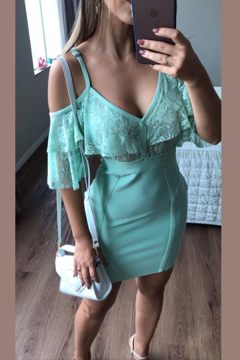 Vestido Bandagem Premium