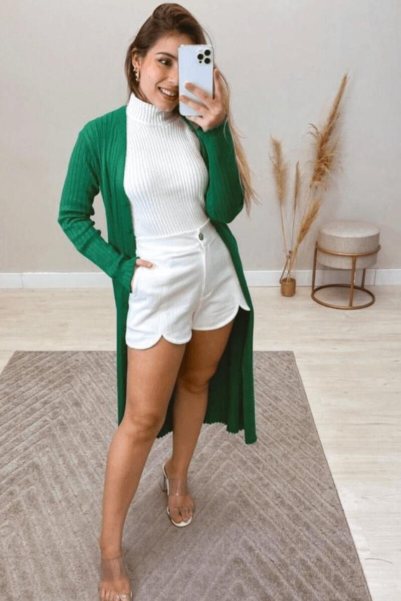 Vestido Feminino Modal M.L Midi
