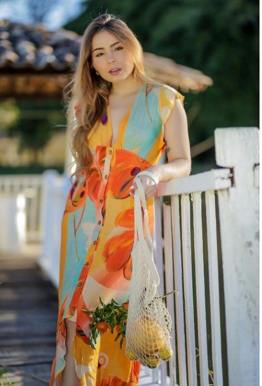 Vestido Longo Blossom 4
