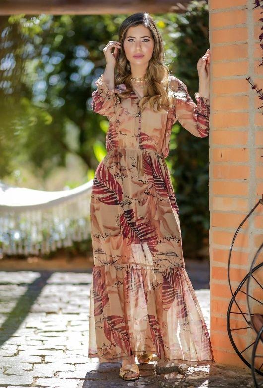 Vestido Longo Blossom