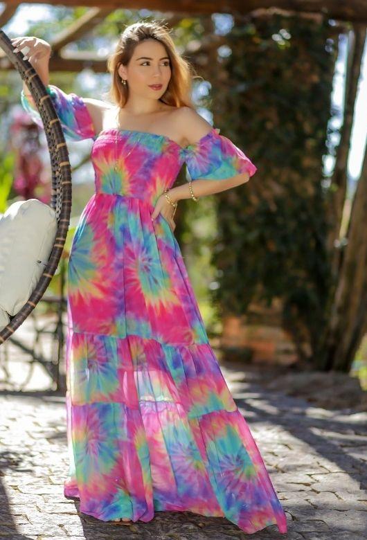 Vestido Longo TyeDay