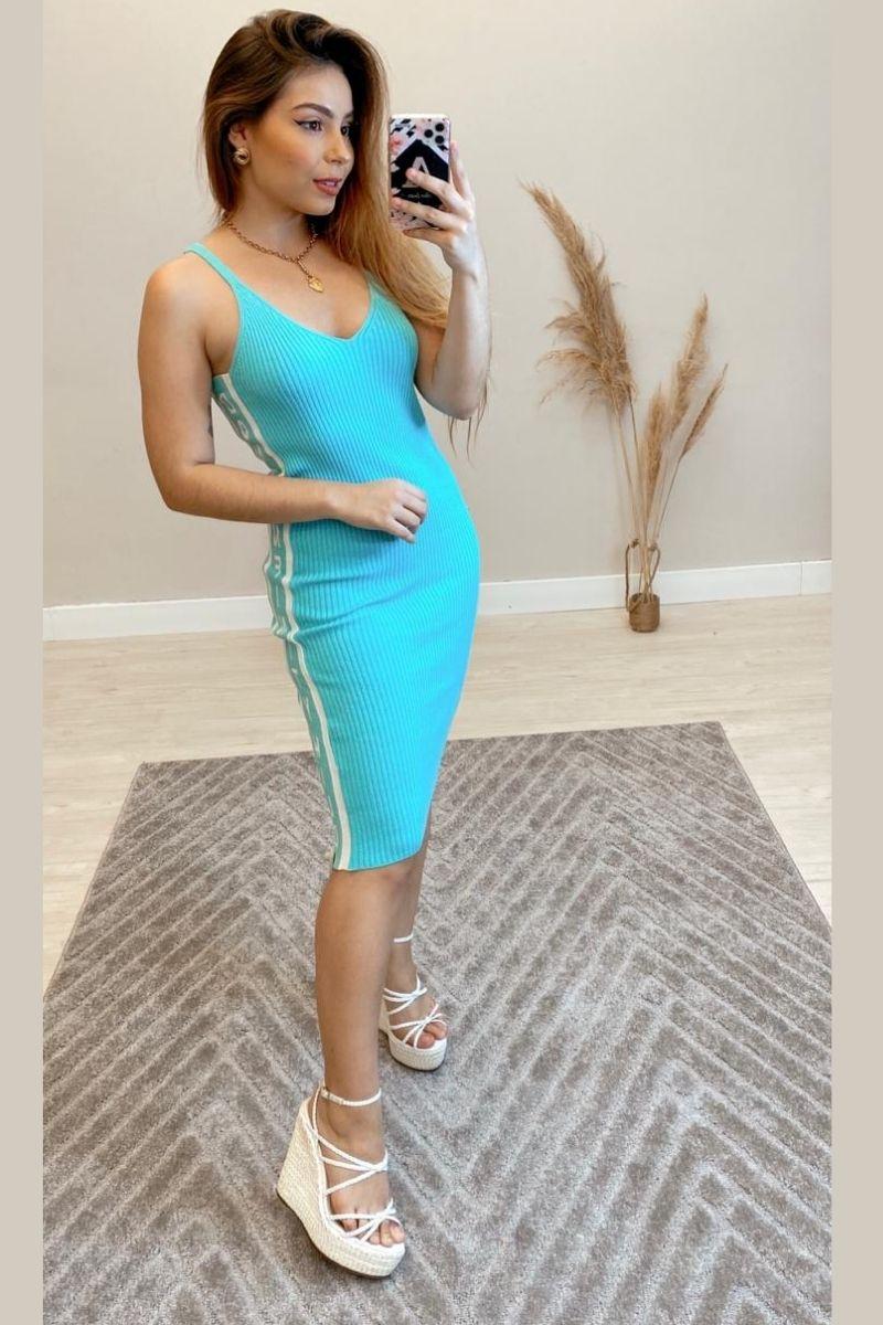 Vestido Midi Modal