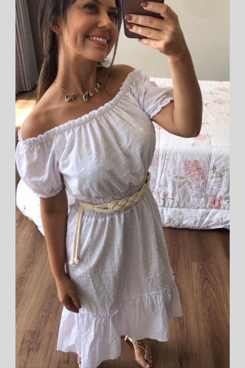 Vestido Midi White