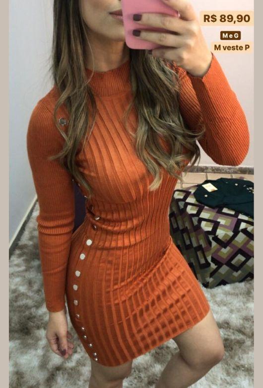 Vestido  ML Tricô