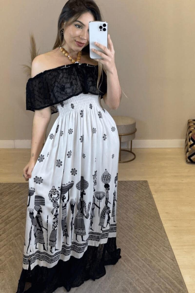 Vestido Feminino Soul Ciganinha Mô