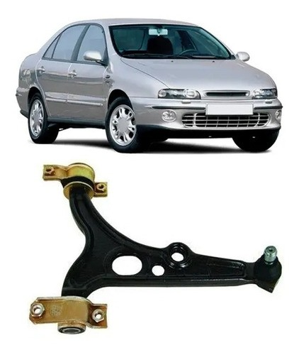 BANDEJA BRAVA 1999 a 2003 MAREA 2005 a 2007 Com PIVO Lado Esquerdo