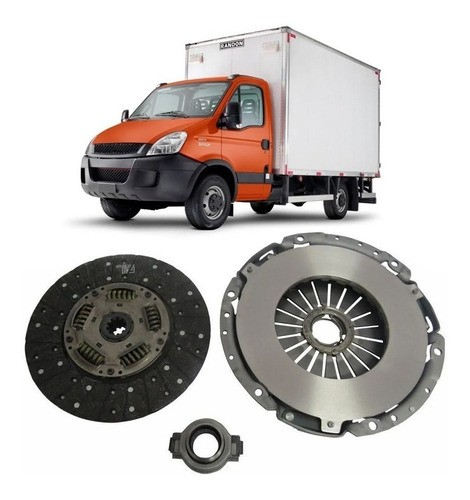 Kit Embreagem Iveco Daily 35s14 2013 a 2017 Euro 5
