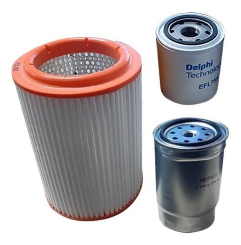 Kit Filtro Ar Oleo Combustível Bongo K2500 16v 2013 a 2018