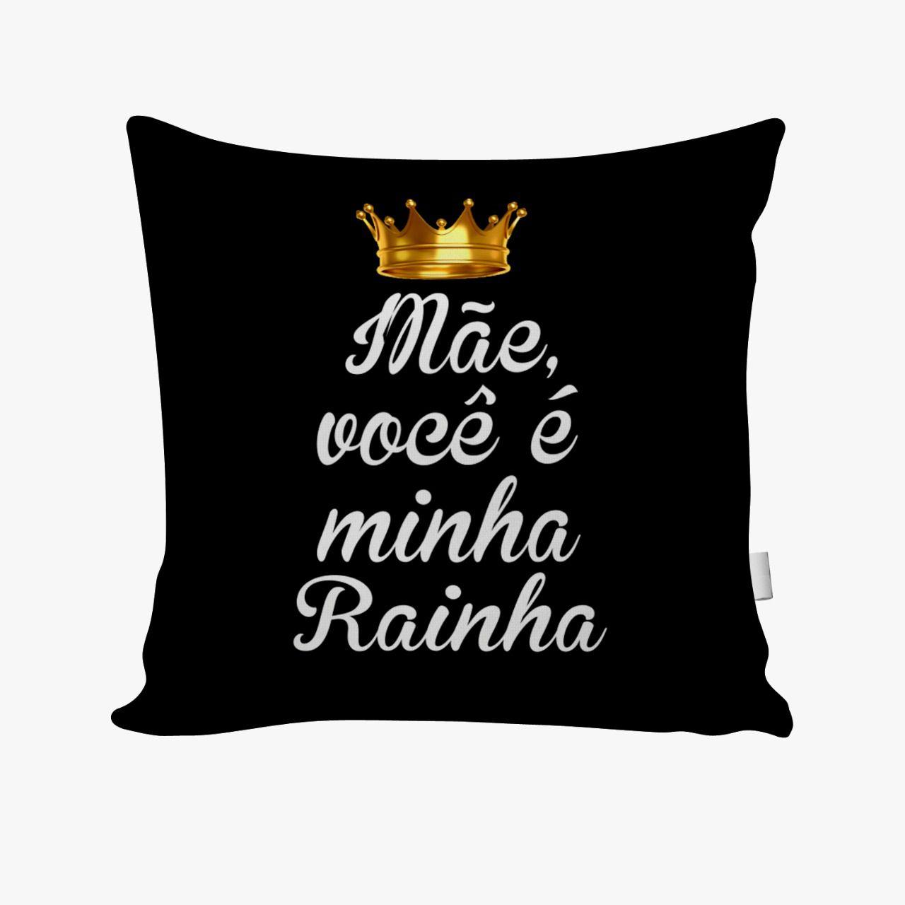 ALMOFADA DIA DAS MÃES - MINHA RAINHA