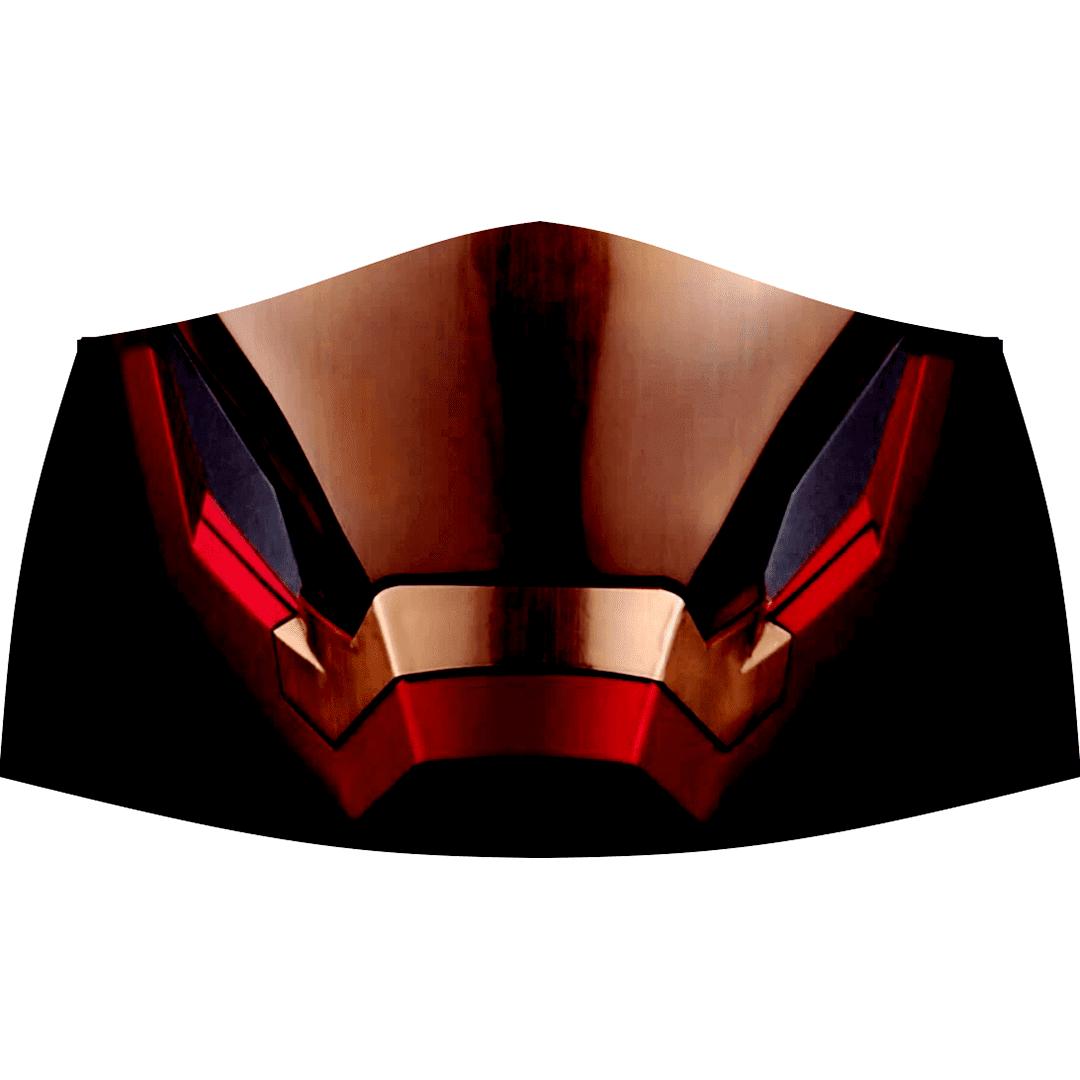 MÁSCARA REUTILIZÁVEL DE TECIDO - IRON MAN 02
