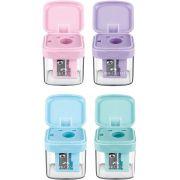 Apontador Faber Castell Mini Box Pastel C/ Depósito