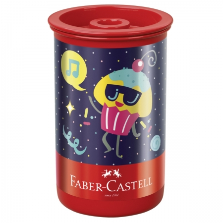 Apontador Faber Castell Tubo Candy Party