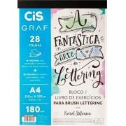 Bloco Lettering Graf Cis 28 Folhas A4 180g