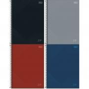 Caderno Espiral Capa Dura  Universitário 10 Matérias (160 Folhas) Zip Tilibra Unitário
