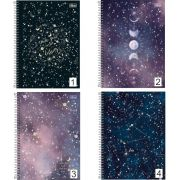 Caderno Espiral Magic Planetas Tilibra