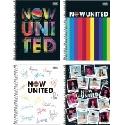 Caderno Espiral Now United Tilibra