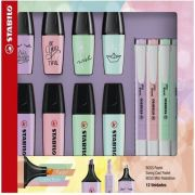 Kit Stabilo Marca Texto Boss + Swing Cool Pastel