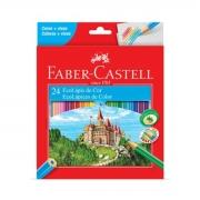 Lápis de Cor Faber Castell Ecolápis 24 Cores