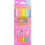 Lápis de Cor Multicolor Pastel 10 Cores