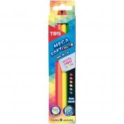 Lápis de Cor Tris Mega Soft Color Tons Neon C/6 Cores