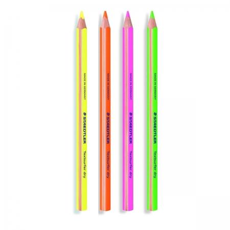 Lápis Marca Texto Staedtler Textsurfer Dry Cores Neon