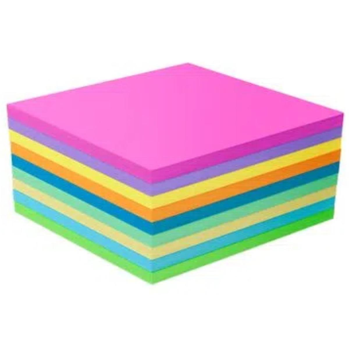 Bloco Notas Adesivas Keep 9 Cores Magic 75x75mm C/225 Folhas