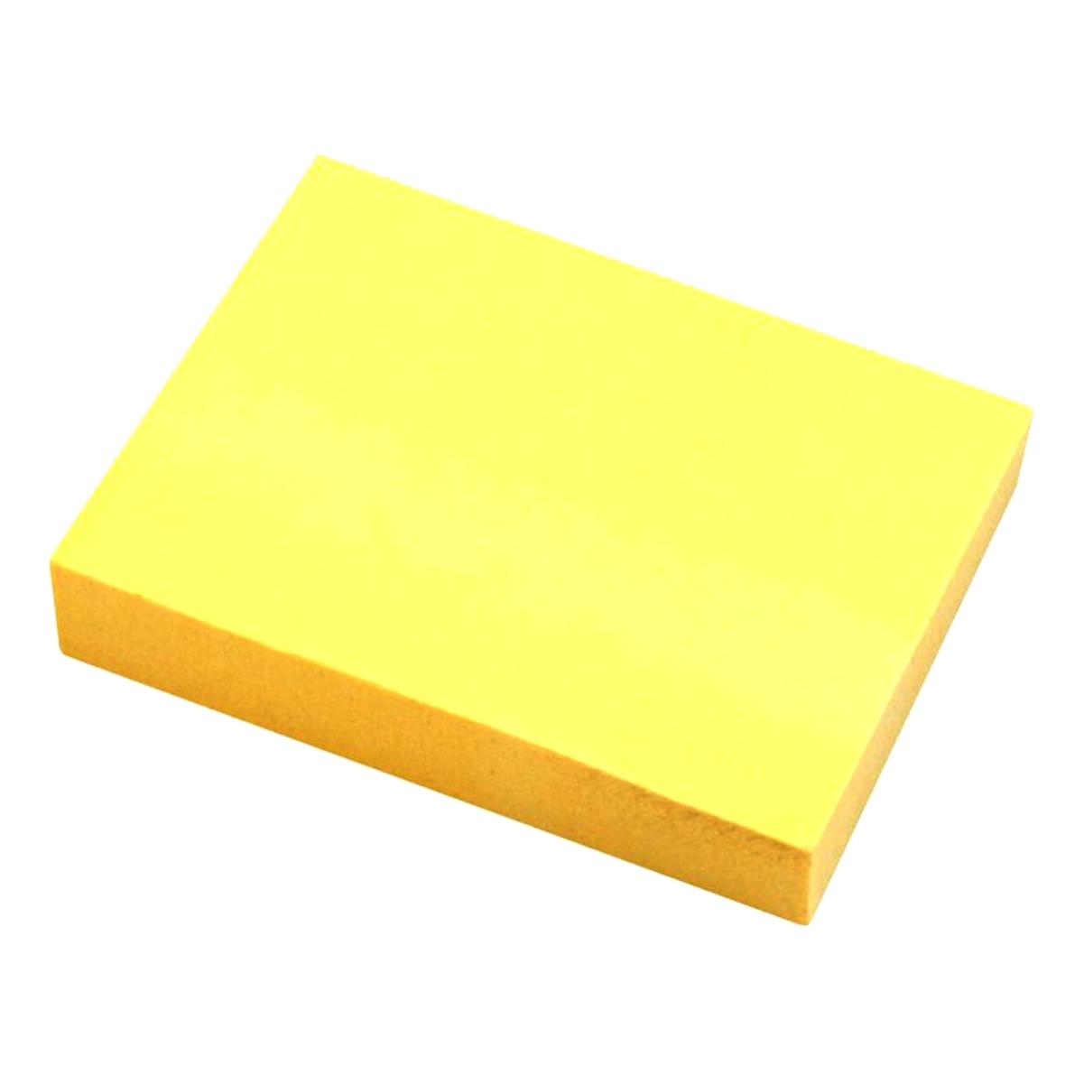 Bloco Notas Adesivas Tris Pop Office T004 Amarelo 101x76mm 100 Unidades