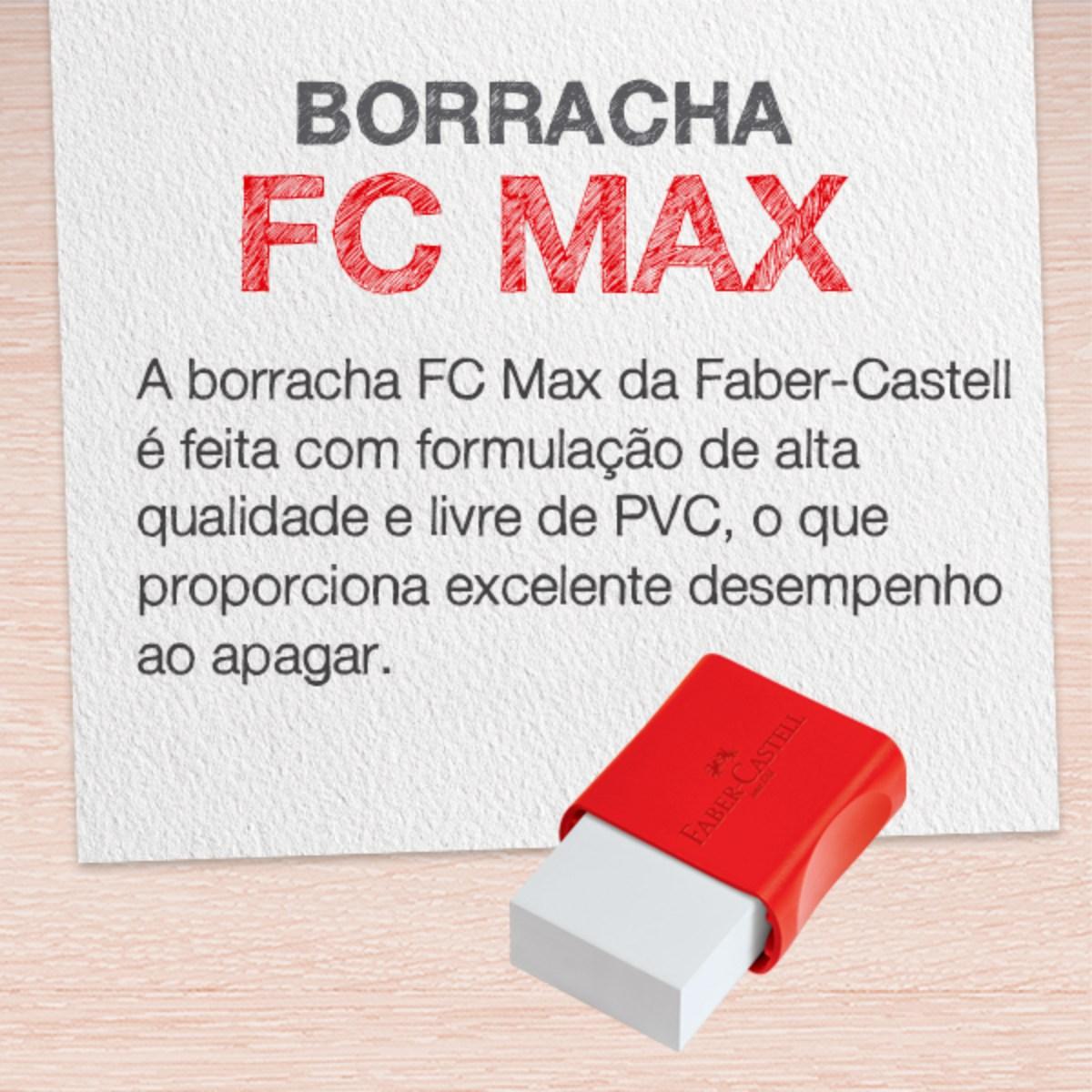 Borracha Escolar Faber Castell FCMax Unitária
