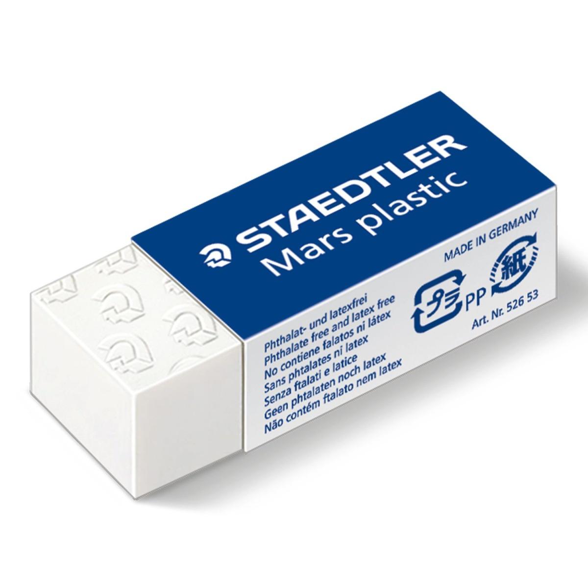 Borracha Staedtler Mars Plastic Soft 2 Unidades