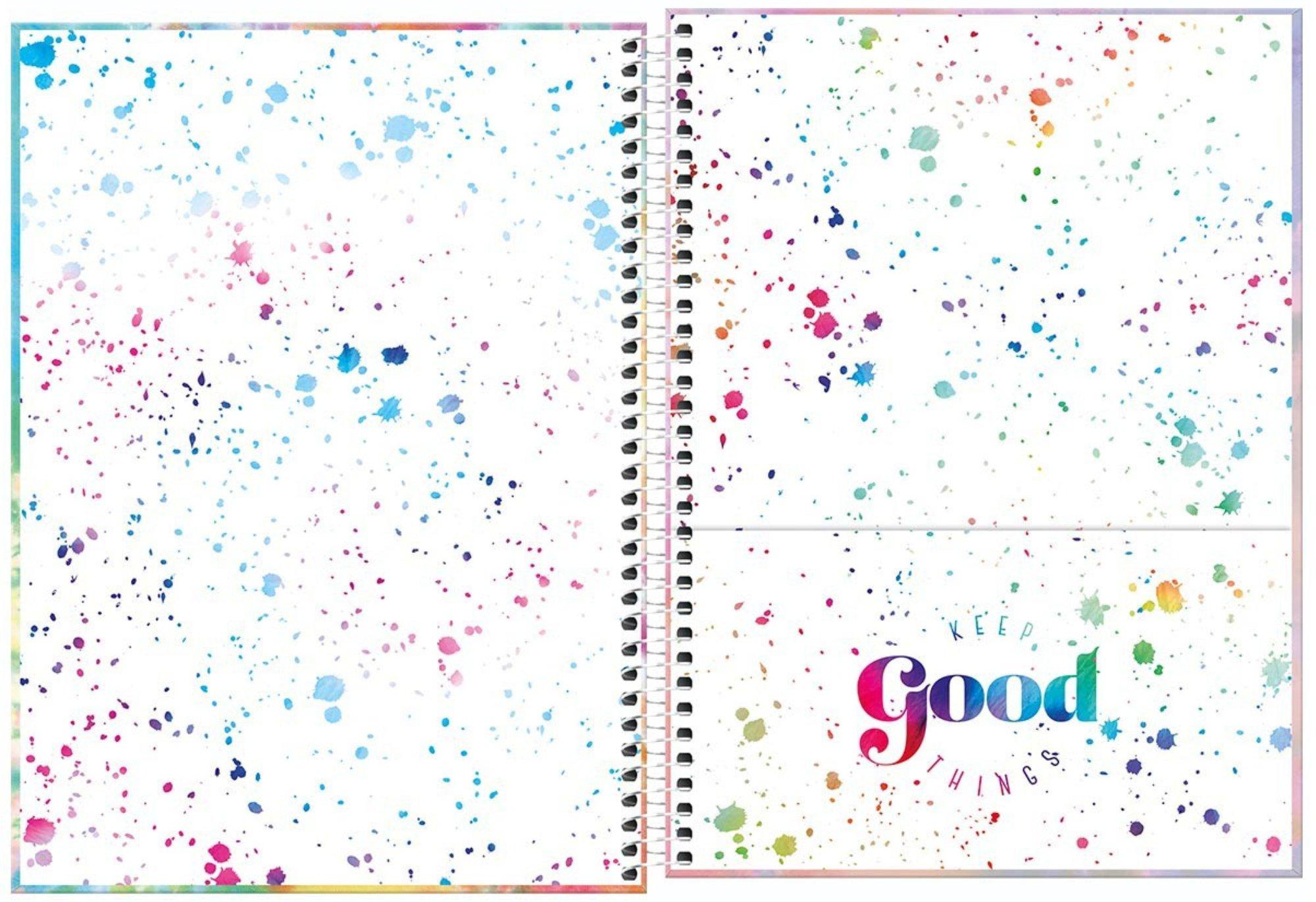 Caderno Espiral Good Vibes Tilibra