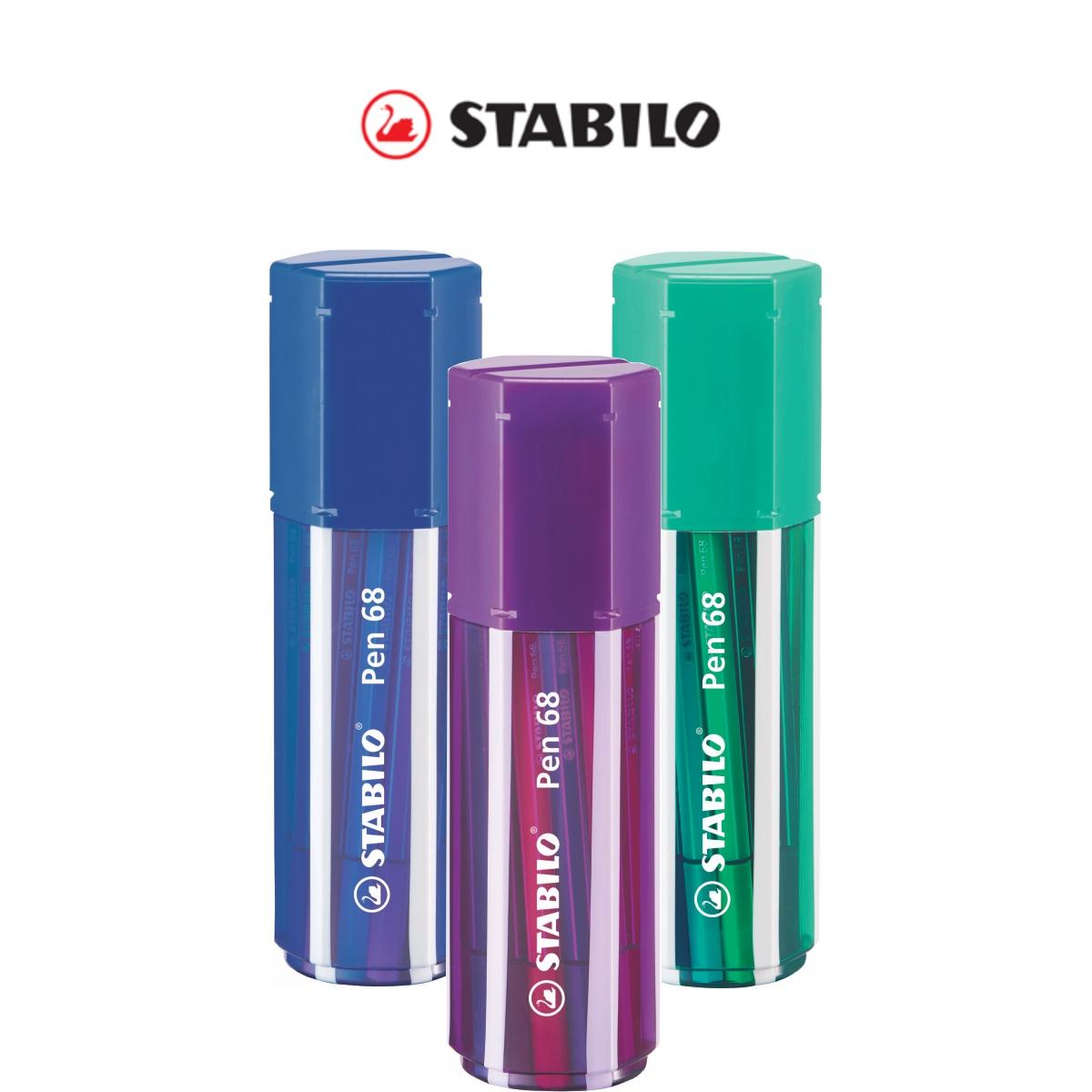Conjunto Caneta Stabilo Pen 68 Com 20 Cores