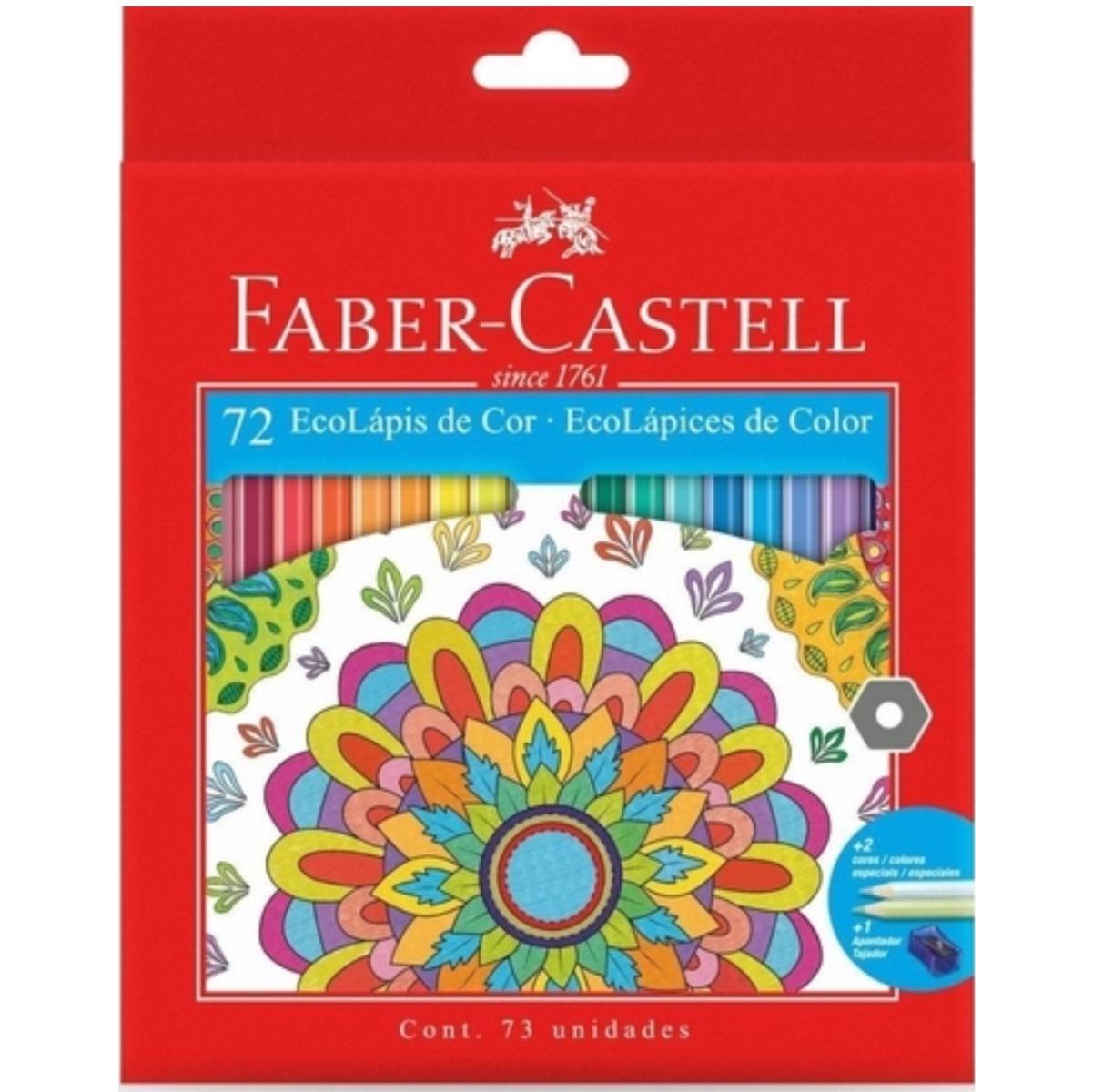 Lápis de Cor Faber Castell 72 Cores