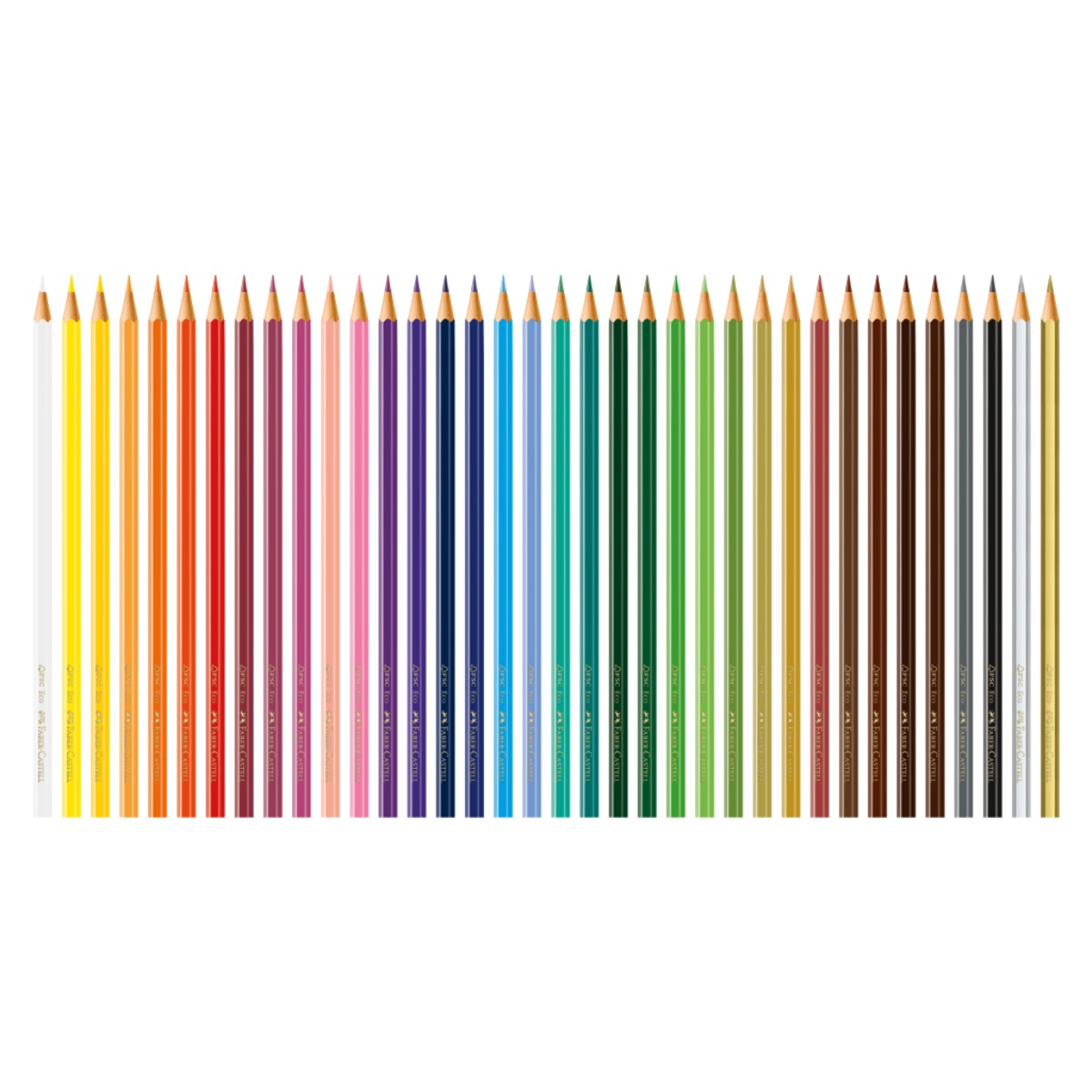 Lápis de Cor Faber Castell  Ecolápis 36 Cores
