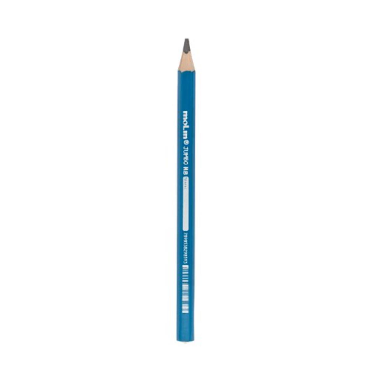 Lápis Grafite Jumbo Molin Azul
