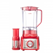 Liquidificador Turbo Inox Red (L-1000 RI) - Mondial