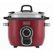 Panela Elétrica Multifuncional P700V Vermelha - Black+Decker